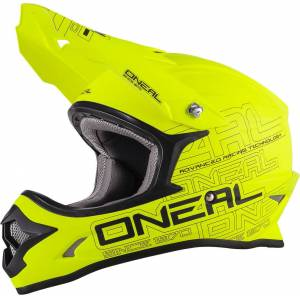 Oneal O´Neal 3SERIES Flat Motocross Helmet  - Size: Extra Small