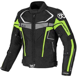 Berik Faith Waterproof Motorcycle Textile Jacket  - Size: 60