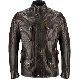 Belstaff Turner Motorcycle Leather Jacket  - Size: Medium