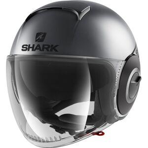 Shark Nano Neon Mat Jet Helmet  - Size: Large
