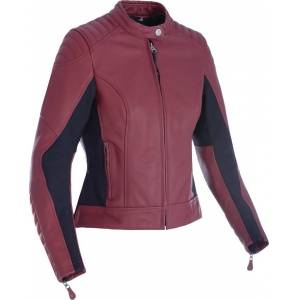 Oxford Beckley Ladies Motorcycle Leather Jacket  - Size: Small