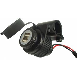 Booster 12V Double-USB-Socket  - Size: One Size