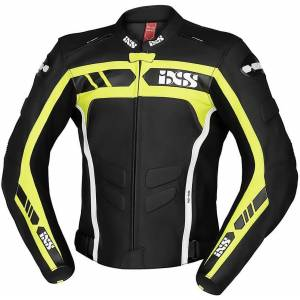 IXS Sport RS-600 1.0 Motorcycle Leather Jacket  - Size: 48