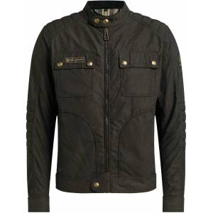 Belstaff Roberts 2.0 Motorcycle Waxed Jacket  - Size: 4X-Large