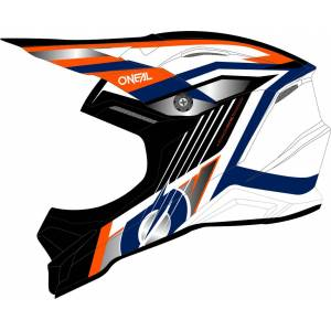 Oneal 3Series Vision Motocross Helmet  - Size: Extra Small