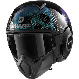 Shark Street-Drak Krull Jet Helmet  - Size: Extra Small