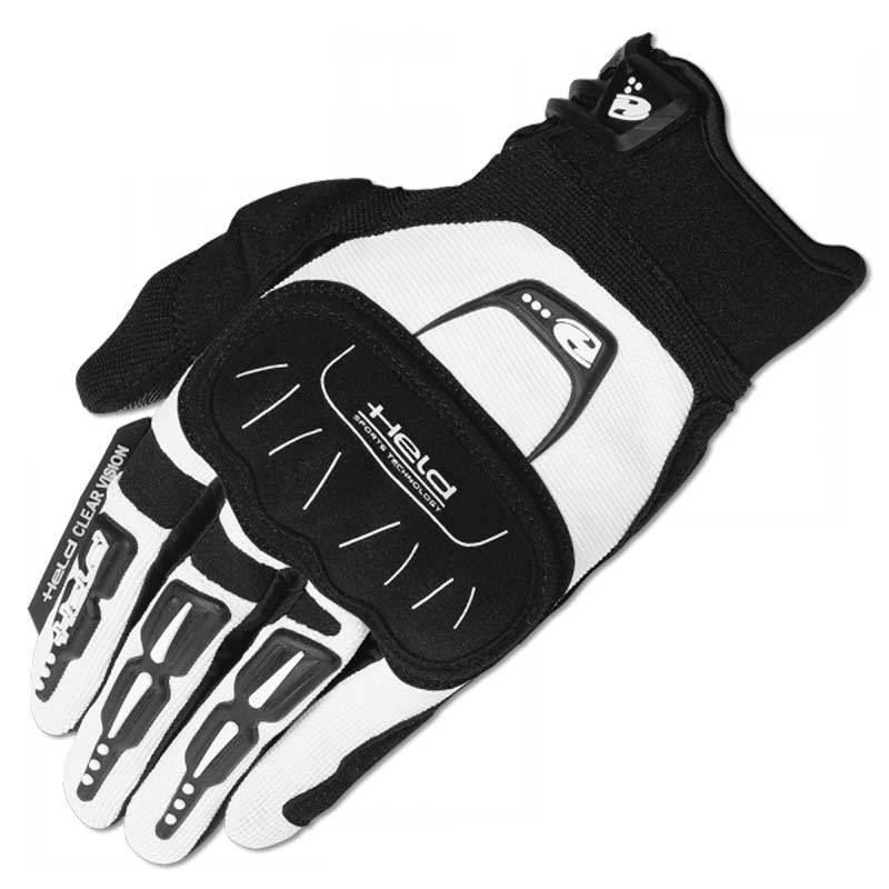 Held Backflip Motocross Gloves Black White 2XL