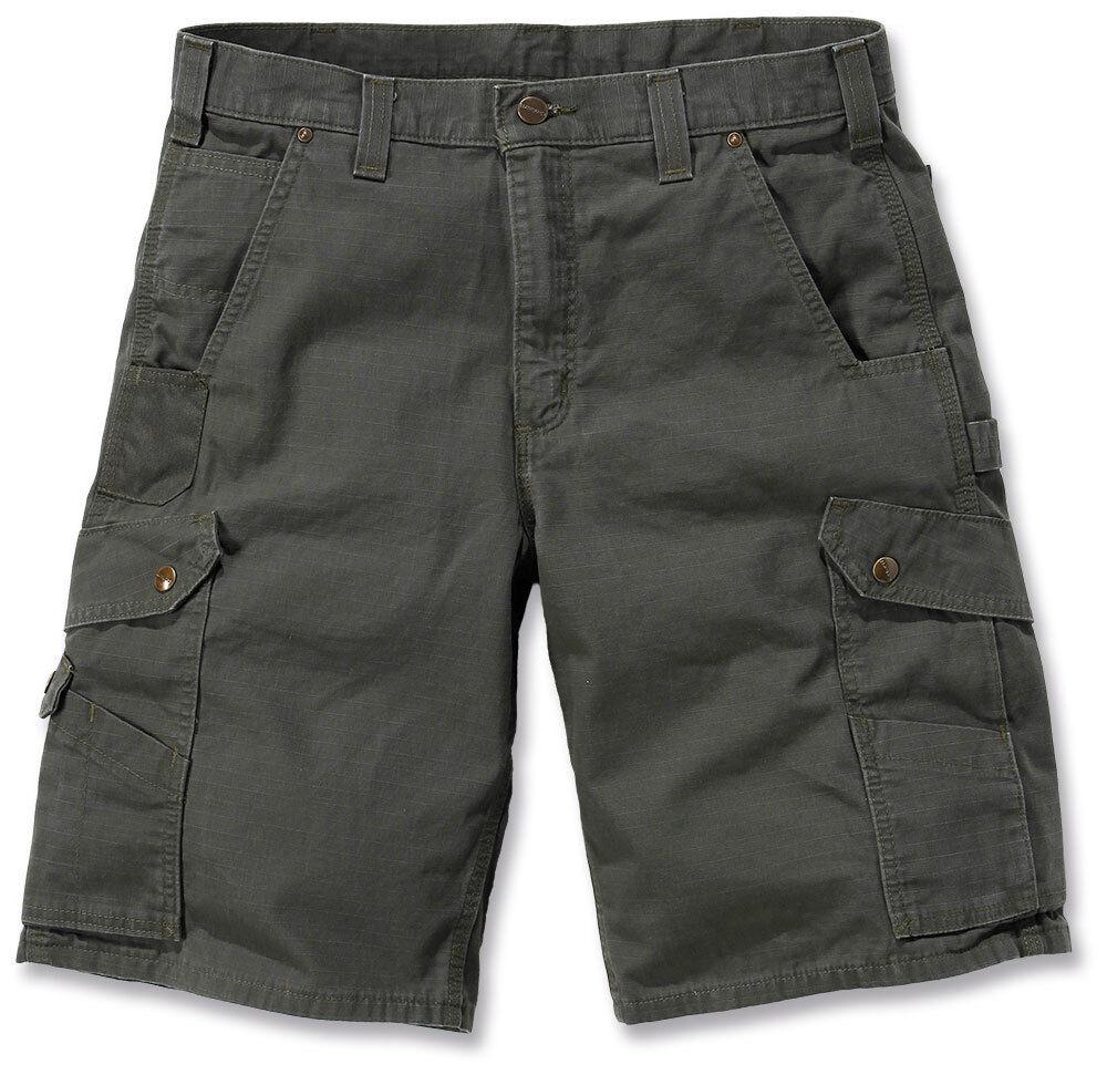 Carhartt Ripstop Cargo Work Shorts Green 30