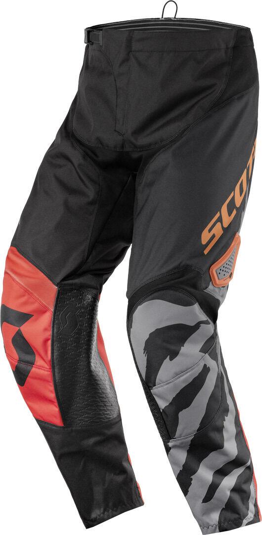 Scott 350 Race Motocross Pants 2017 Black Orange 30