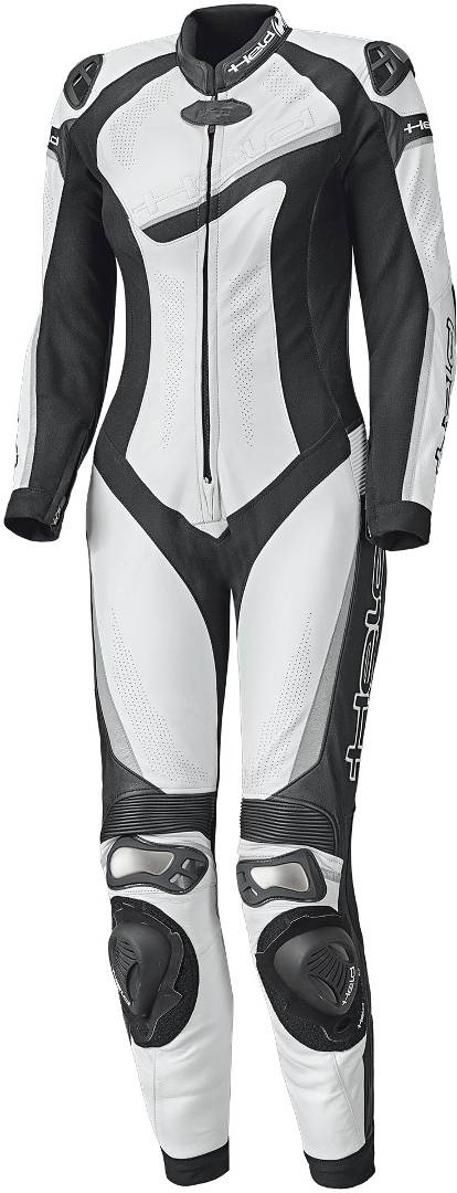 Held Ayana II One Piece Women's Motorcycle Leather Suit Black White L