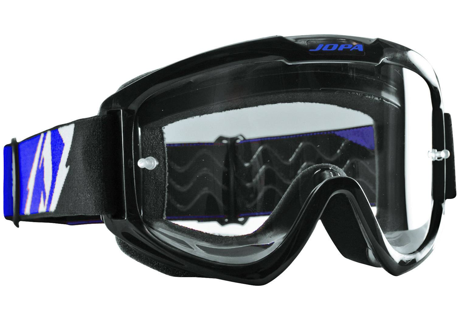Jopa Venom II MX Goggle Black Blue One Size