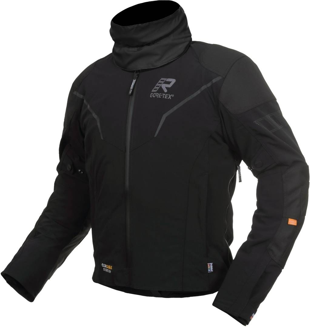 Rukka Elas Motorcycle Textile Jacket Black Grey 64