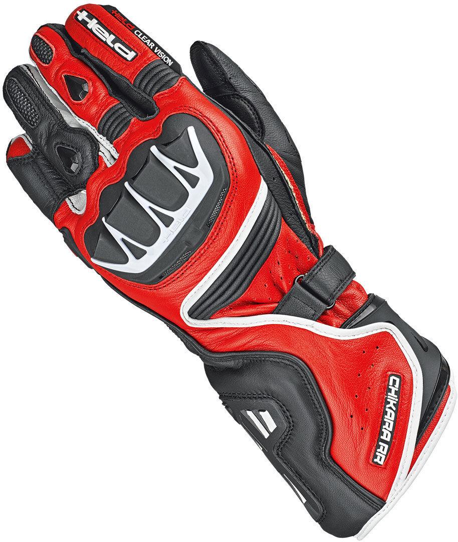 Held Chikara RR Gloves Black Red 3XL
