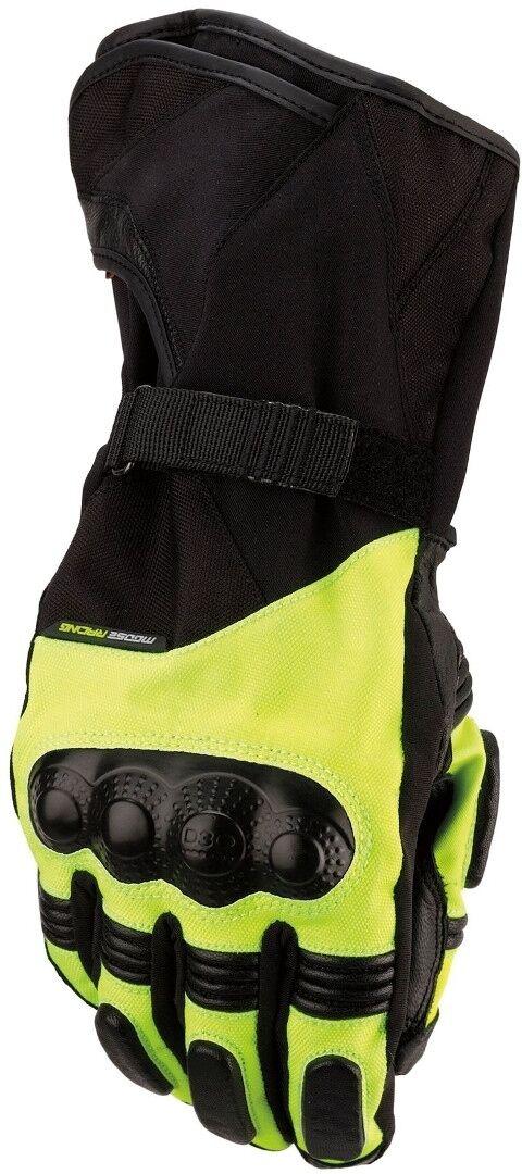 Moose Racing ADV1 Long Motorcycle Gloves Yellow L