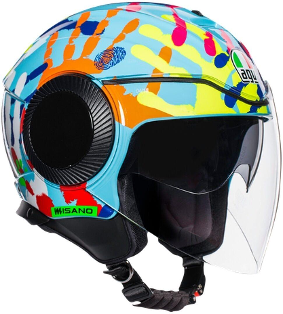 AGV Orbyt Misano 2014 Jet Helmet Multicolored S