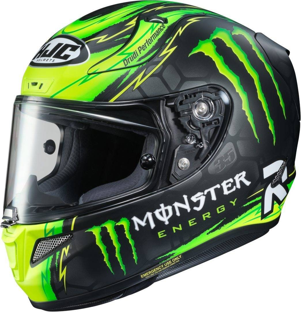 HJC RPHA 11 Crutchlow Replica Helmet Black Green L