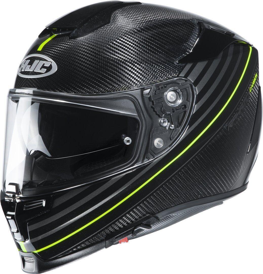 HJC RPHA 70 Artan Carbon Helmet Black Yellow 2XL