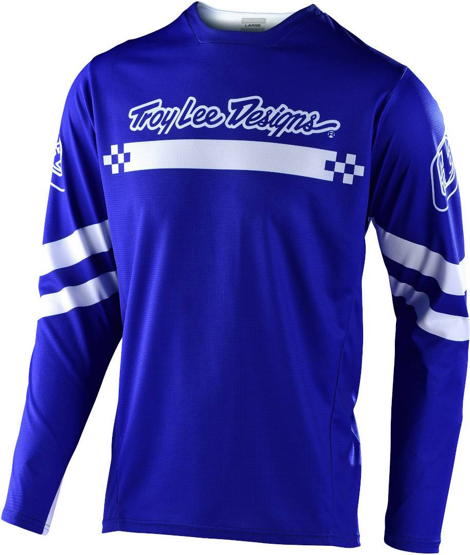 Lee Troy Lee Designs Sprint Factory Youth Jersey White Blue S