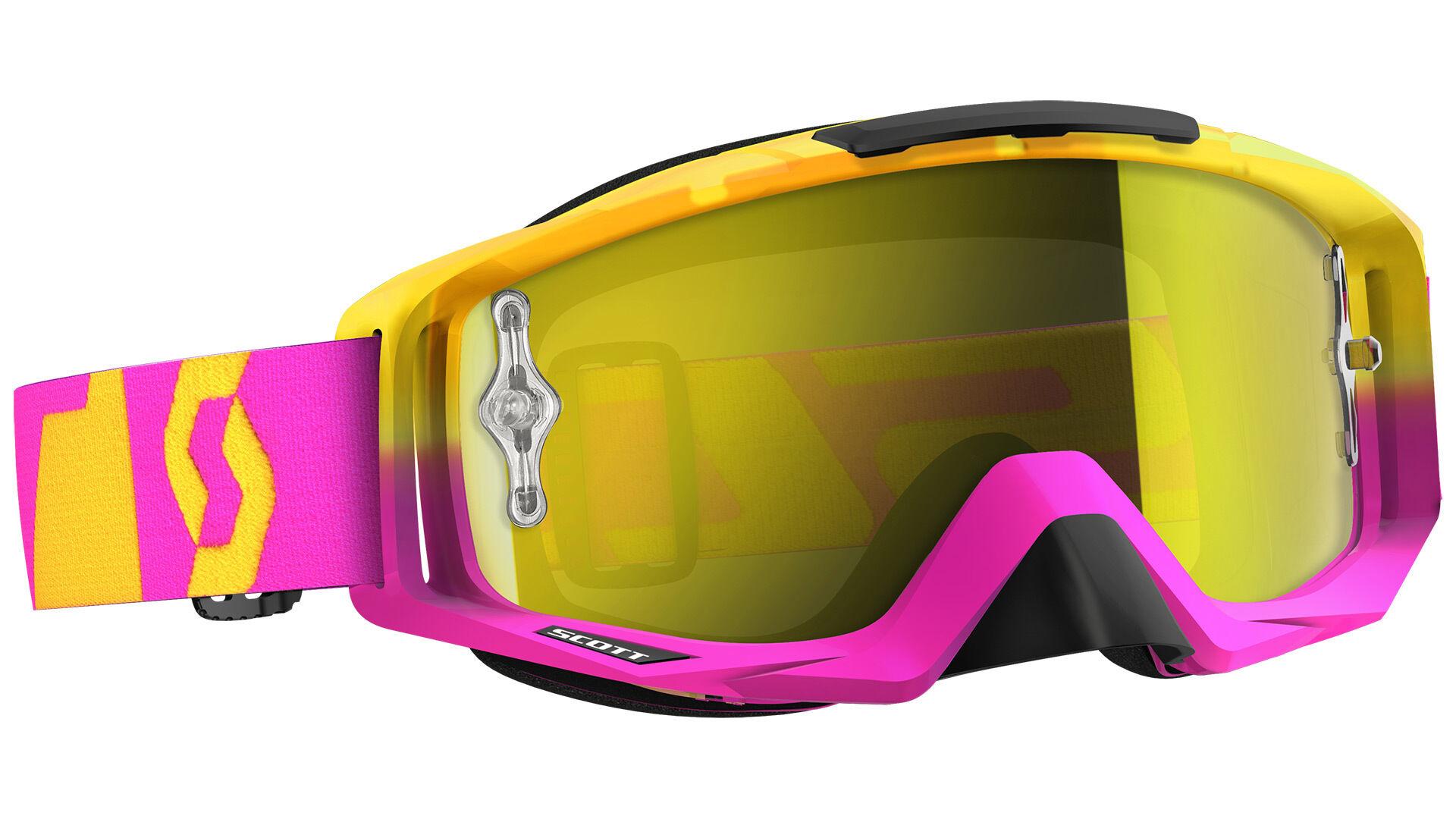Scott Tyrant Oxide Chrome Works Pink Yellow One Size