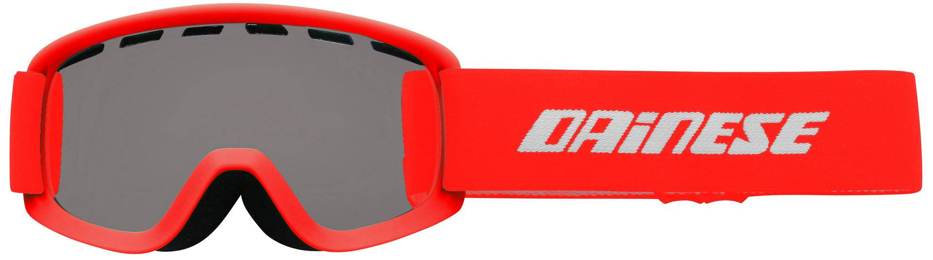 Dainese Opti JR Kids Ski Goggles Red One Size