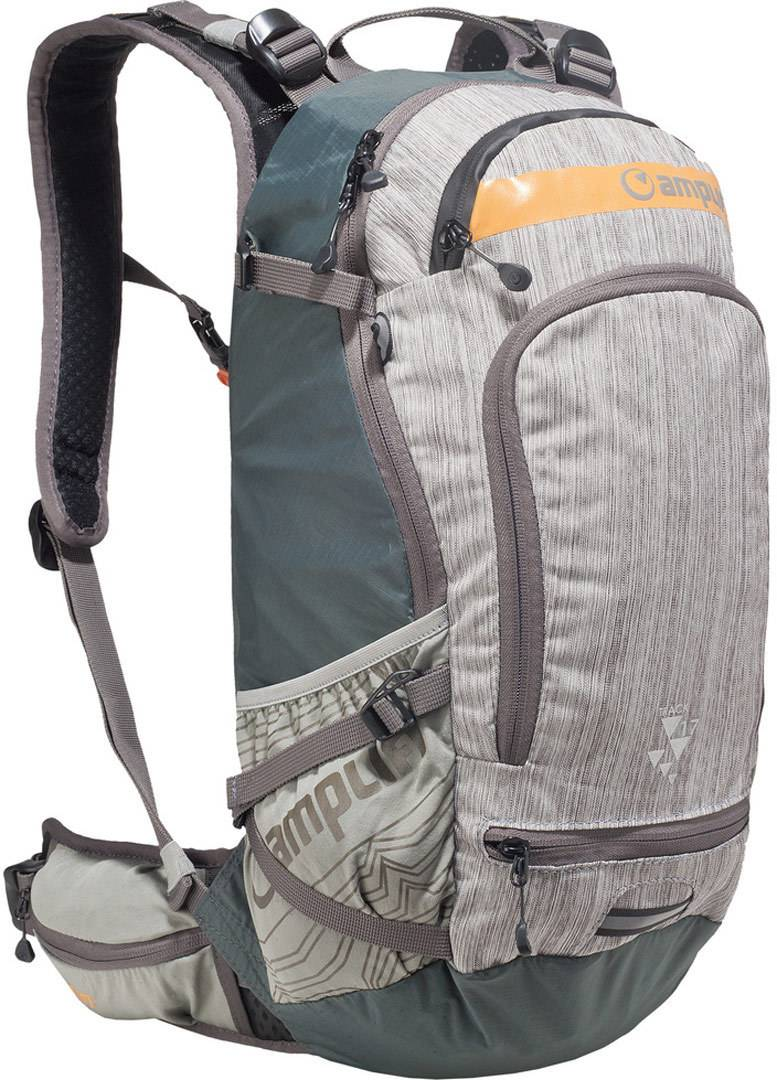 Amplifi Track 17 Backpack Grey Green One Size