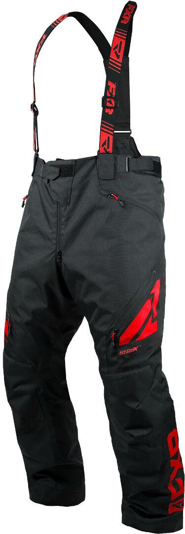 FXR Clutch FX Bib Pants Black Red XL
