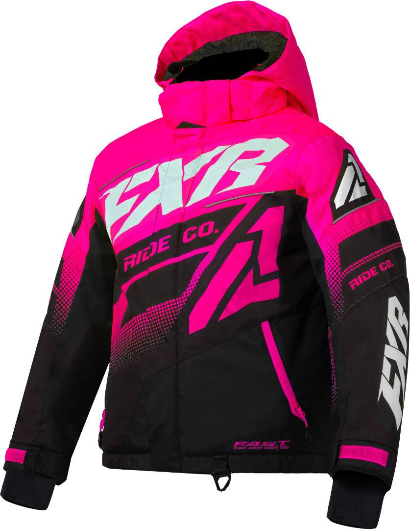 FXR Boost Kids Jacket Pink XS S