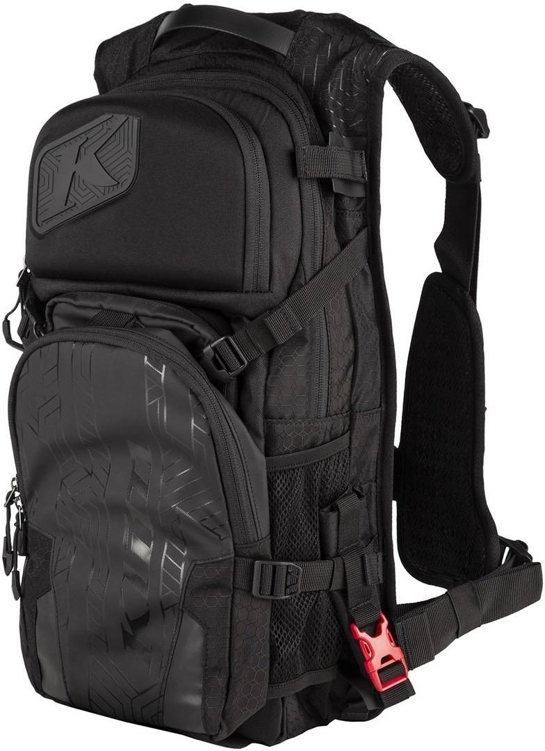 Klim Nac Pak Backpack + 3L Hydration Bladder Black One Size