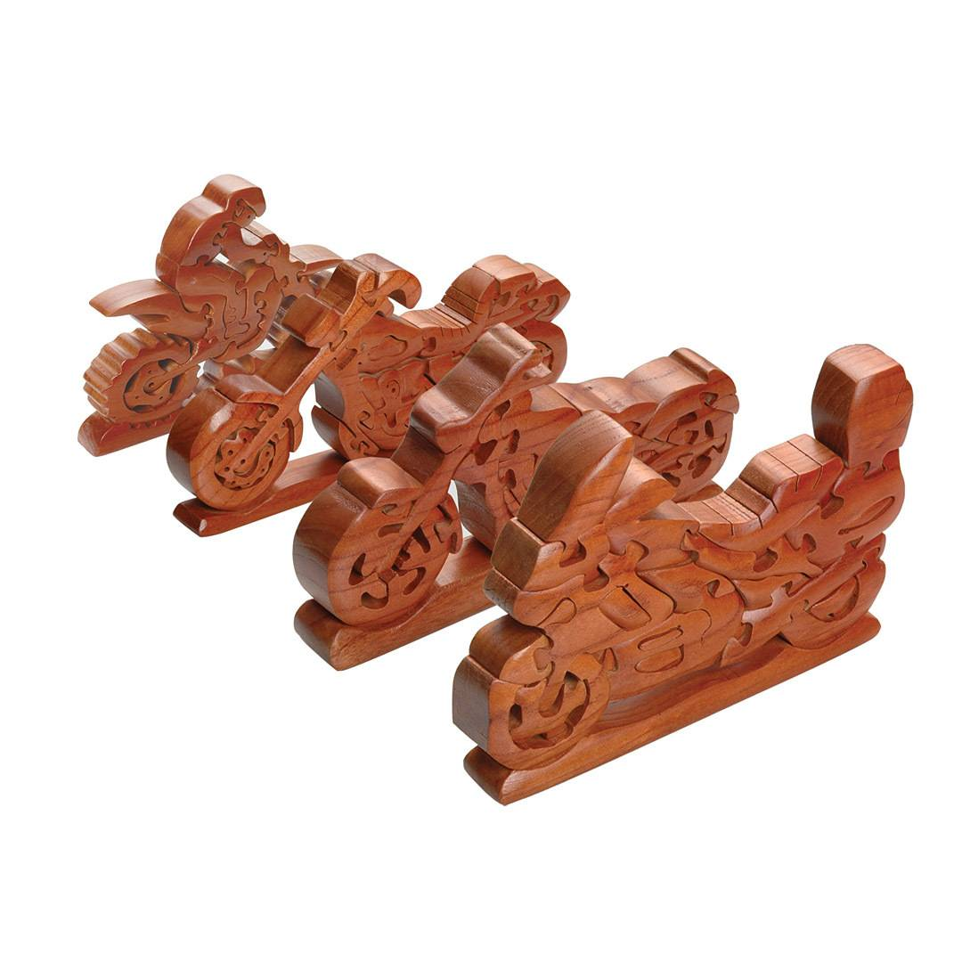 Booster Motorbike Wood Puzzle