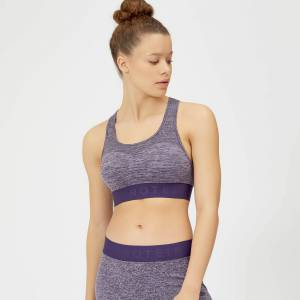 Myprotein MP Women's Inspire Seamless Sports Bra - Purple - XS - Soft Purple
