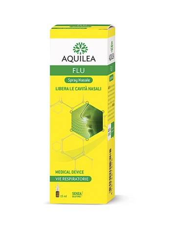 URIACH ITALY Srl Aquilea Flu Spray Nasale 15ml