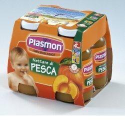 PLASMON Bebifrutt Pl.Pesca 4x125ml