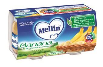 DANONE NUTRICIA SpA SOC.BEN. Omo Mellin Banana 2x100g