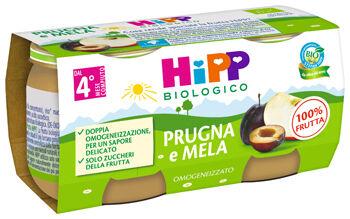 Hipp italia srl Omo Hipp Prugna/mela 2x80g