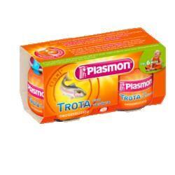Plasmon (heinz italia spa) Omo Pl.Trota-Verdure 2x80g