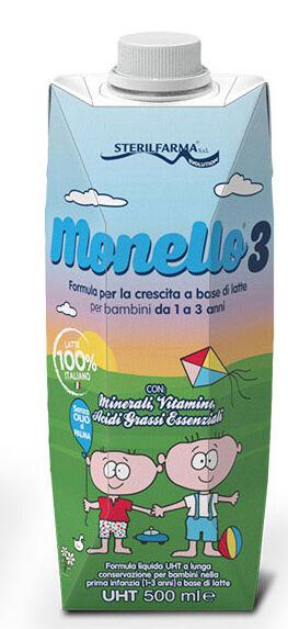 Sterilfarma srl Monello 3 1/3 Anni Liq.500ml