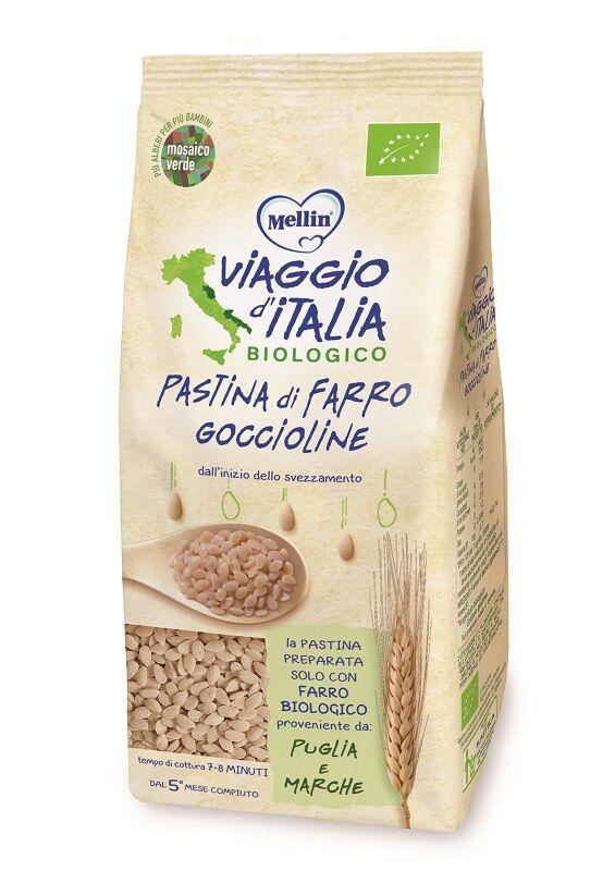 DANONE NUTRICIA SpA SOC.BEN. Viaggio It Pasta Farro Gocciol