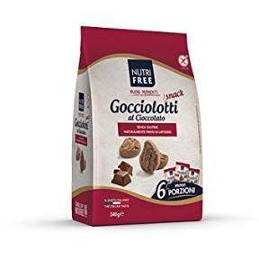 NT FOOD SpA Nutrifree Gocciol.Snack 240g