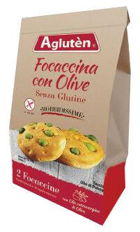 Nove alpi srl Agluten Focaccina Olive 100g