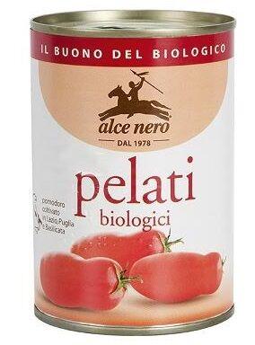 ALCE NERO SpA Alce Pomodori Pelati 400g