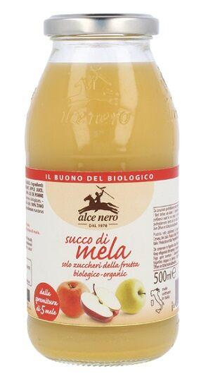 ALCE NERO SpA Alce Succo 100% Mela Bio 500ml
