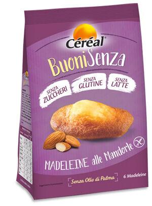 Nutrition & sante' italia spa Cereal Madeleine Mandorle 180g
