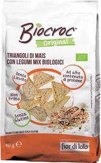 BIOTOBIO Srl Biocroc Triangoli Legumi
