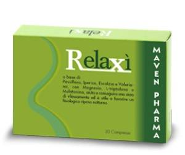 Maven pharma srl Relaxi 30 Cpr 36g
