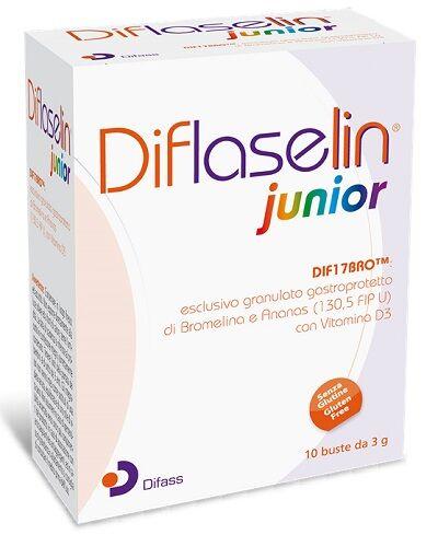 DIFASS INTERNATIONAL SpA Diflaselin Jr 10 Buste
