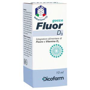 Dicofarm spa Fluor D3 Gocce 10ml