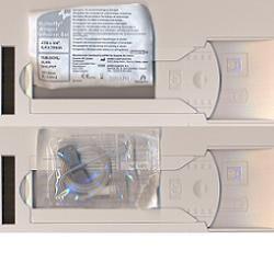ICU MEDICAL ITALIA Srl Ago Butterfly 19g(1,1mm)Crema