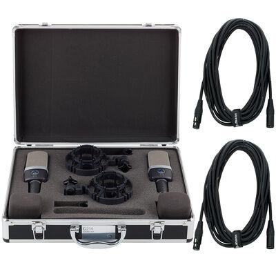 AKG C214 Stereo Set Bundle