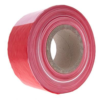 Stairville Barrier Tape 500m Wh/Rd
