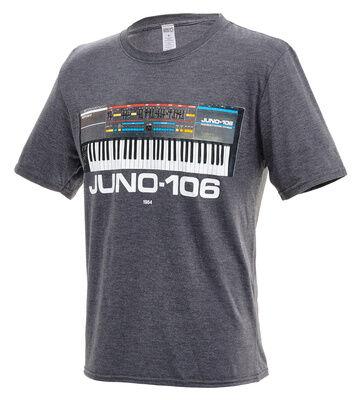 Roland Juno-106 T-Shirt M Charcoal